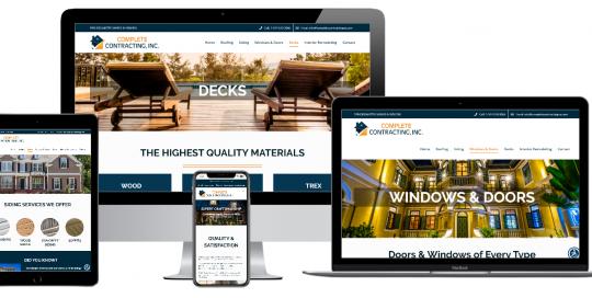 Capital District Digital Web Design - Complete Contracting