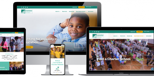 Capital District Digital Web Design - Connecticut Charter Schools Association