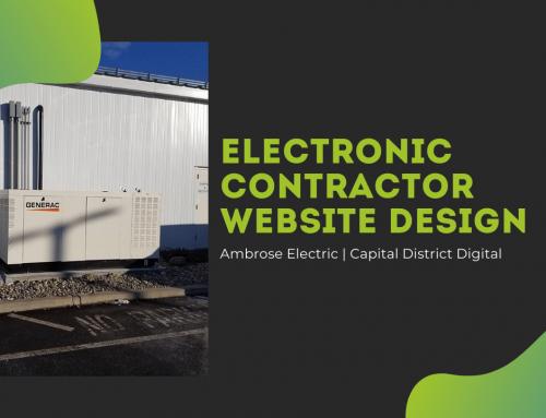 Ambrose Electric Web Design Latham, NY