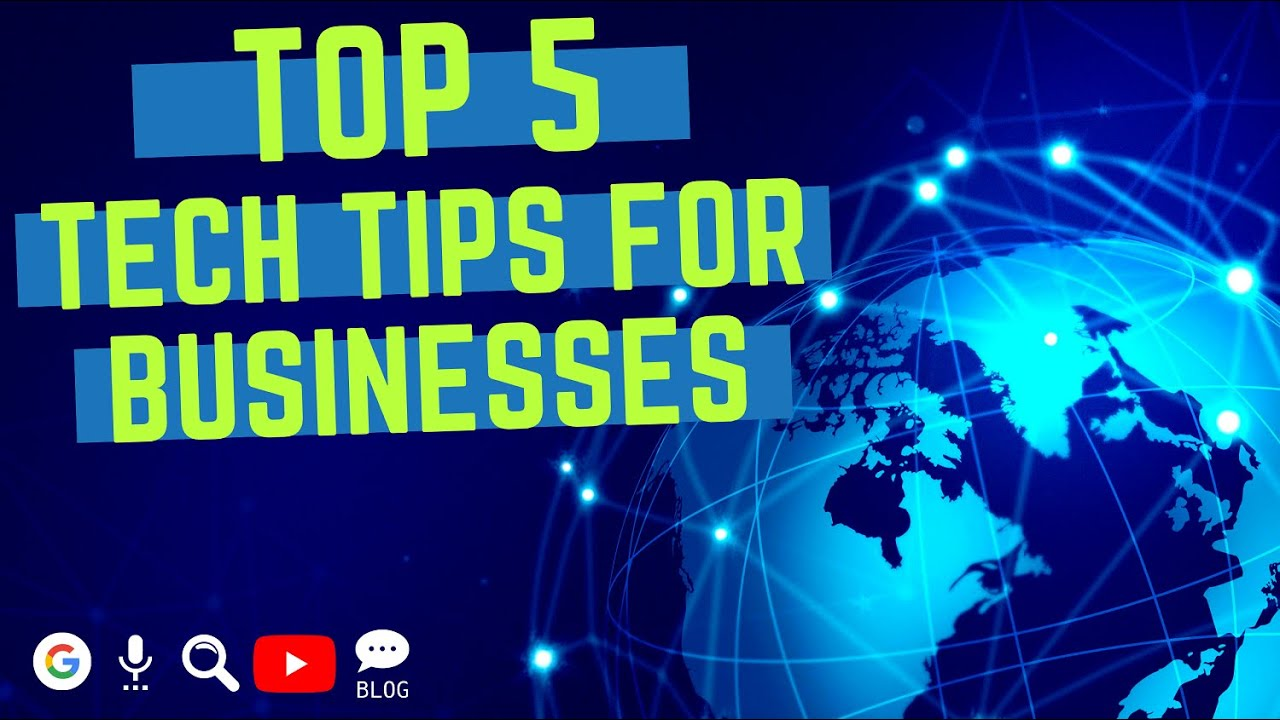 Top 5 Tech Tips for Businesses Anthony Troia - Capital District Digital