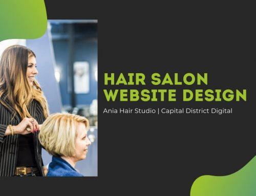 Ania Hair Salon & Spa Web Design Albany, NY