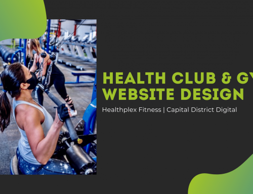 Healthplex Fitness Web Design Clifton Park, NY