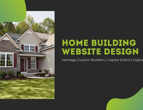 Heritage Custom Builders Web Design Clifton Park, NY