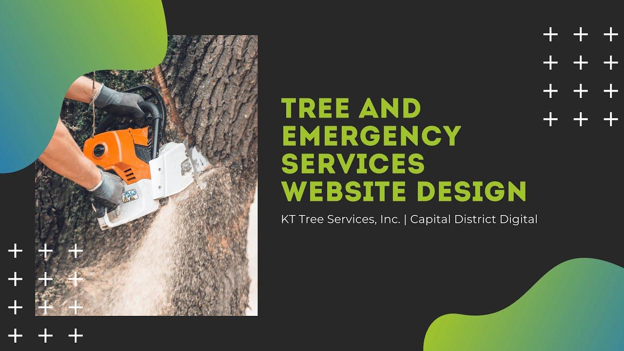 Tree Company Website Design Albany, NY