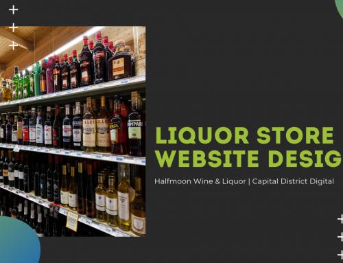 Halfmoon Wine & Liquor | Liquor Store Website Design Albany, NY