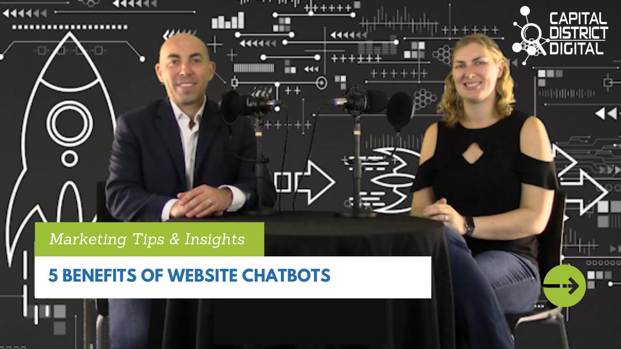 5 Benefits of Website Chatbots