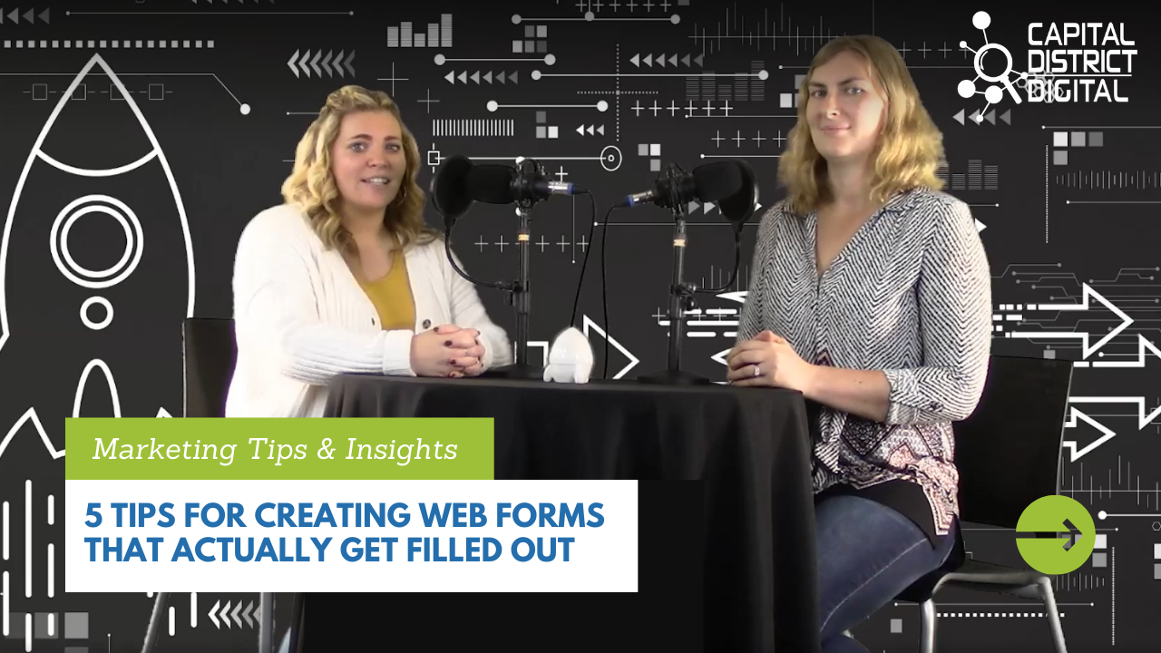 5 Tips for Creating Web Forms that Actually Get Filled Out
