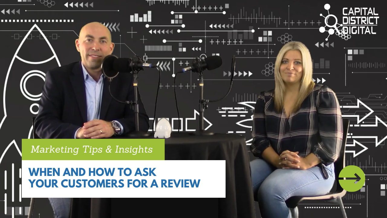 When and How to Ask for a Customer Review Blog Post Graphic