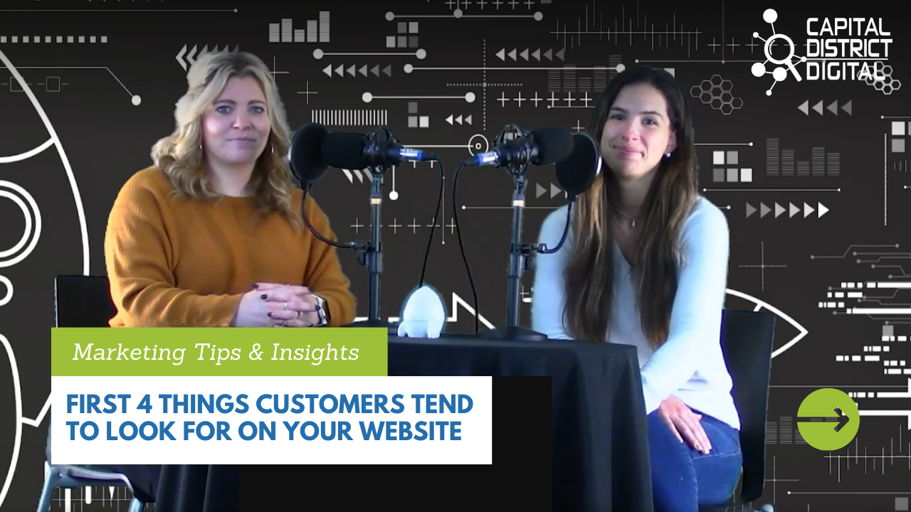 First 4 things Customers Tend to Look For On Your Website